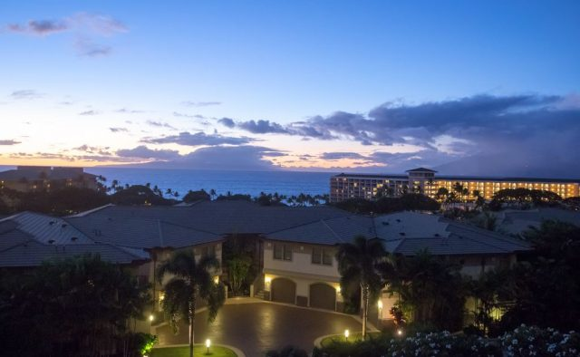 Opalite - Community at dusk - Maui Vacation Home