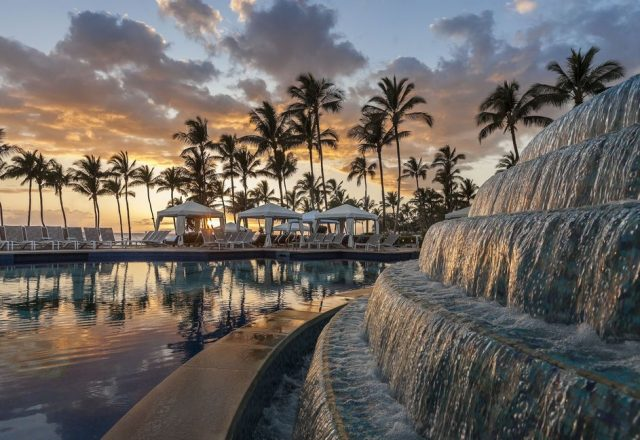 Opalite - Water Feature in the pool - Maui Vacation Home