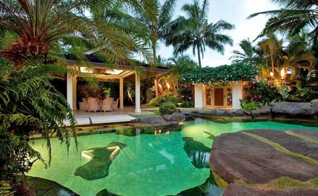 Plantation Paradise Luxury Home Rental - Pool - Hawaii Hideaways