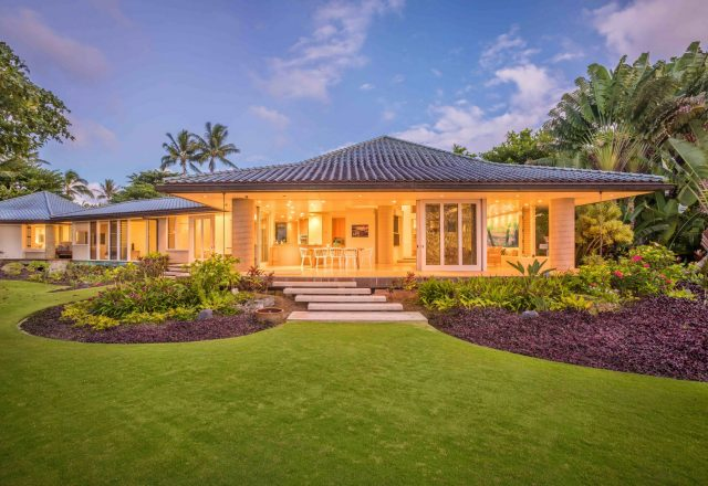 Simply Anini - Exterior - Hawaiian Luxury Vacation Home