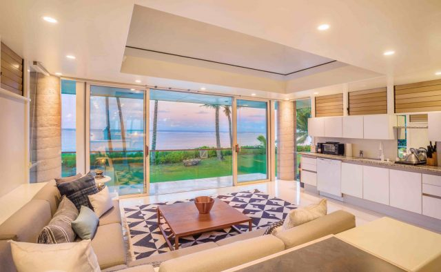 Simply Anini - Living Room - Hawaiian Luxury Vacation Home