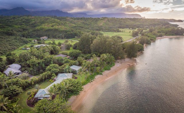 Simply Anini - Aerial Shot - Hawaiian Luxury Vacation Home
