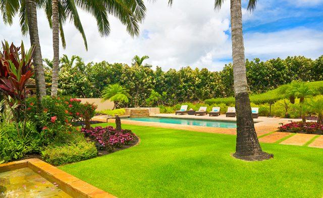 Star Steps - Outdoor Pool - Hawaiian Luxury Vacation Home
