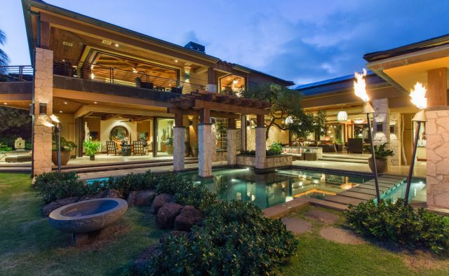 Honeyed Jade Luxury Home Rental - Pool & Spa - Hawaii Hideaways