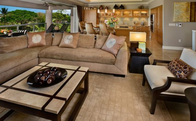 Topaz - Living Room - Luxury Vacation Homes