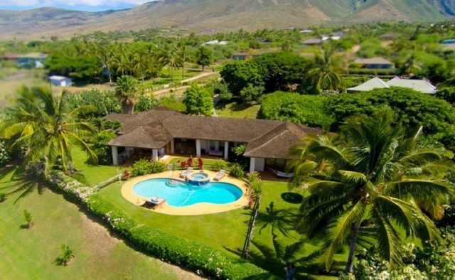 Misty Rose - Aerial View of home 2 - Maui Vacation Home