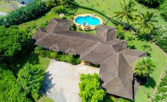 Misty Rose - Aerial View of home - Maui Vacation Home