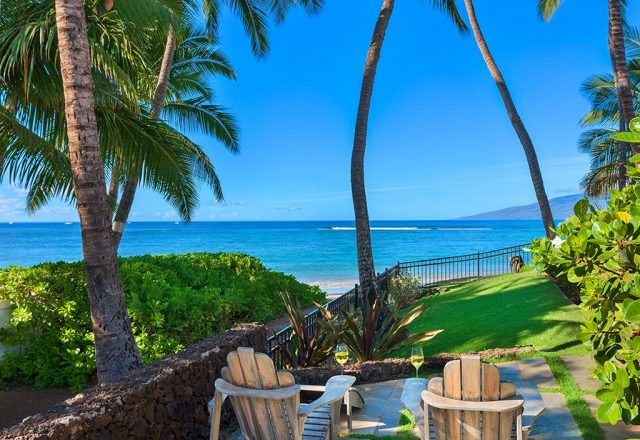 Beach Treasure - Chairs with a view - Hawaii Vacation Homes