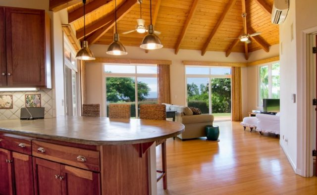 Misty Rose - Kitchen and living area - Maui Vacation Home