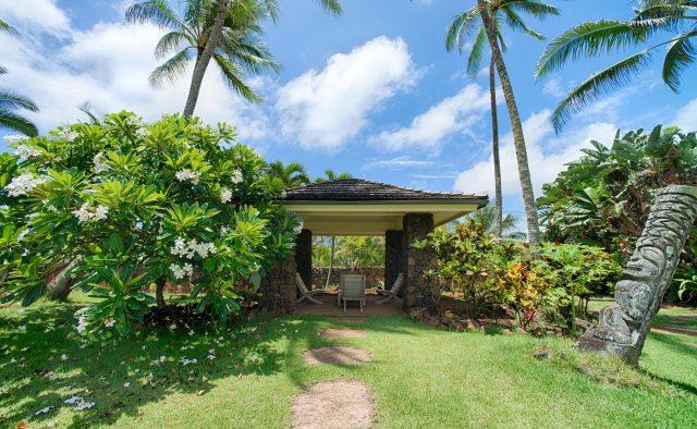 Beachscape - Patio Gazebo - Kauai Vacation Home