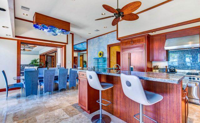 Cobalt Sky - Kitchen 2 - Hawaii Vacation Home
