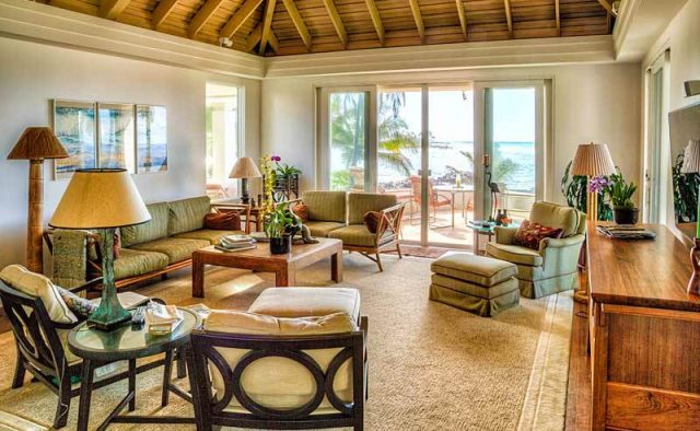 Tranquil Landing - Living Room - Luxury Vacation Homes