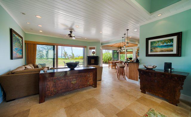Beachscape - Entryway - Kauai Vacation Home