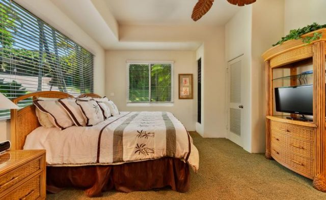 Dynamic Falls - Bedroom - Hawaii Vacation Home