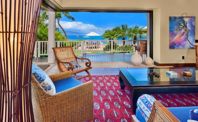 Sun Dreamz - Living Area - Hawaiian Luxury Vacation Home