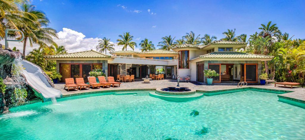 Sun Ray - Swimming Pool - Hawaiian Luxury Vacation Home