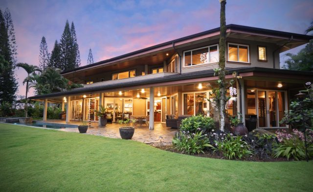 Princeville Paradise Luxury Home Rental - Pool - Hawaii Hideaways