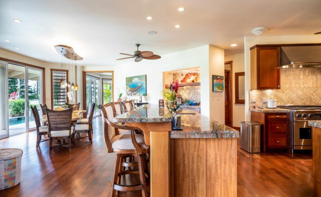 Princeville Paradise Luxury Home Rental - Kitchen - Hawaii Hideaways