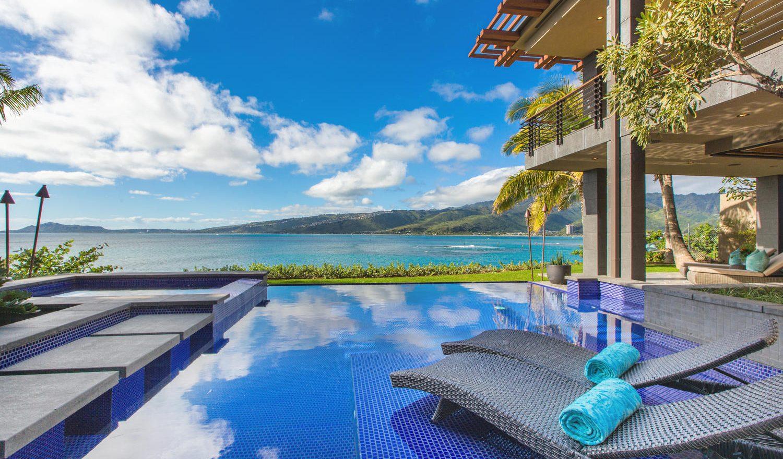 Sea Cliff Chic Luxury Home Rental - Pool & Spa - Hawaii Hideaways