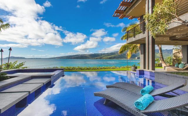 Sea Cliff Chic Luxury Home Rental - Pool & Spa - Hawaii Hideaways