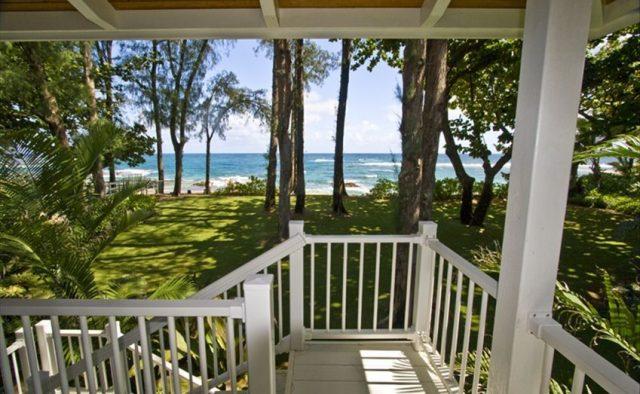 Healing Waters - Back Stairs - Kauai Vacation Home
