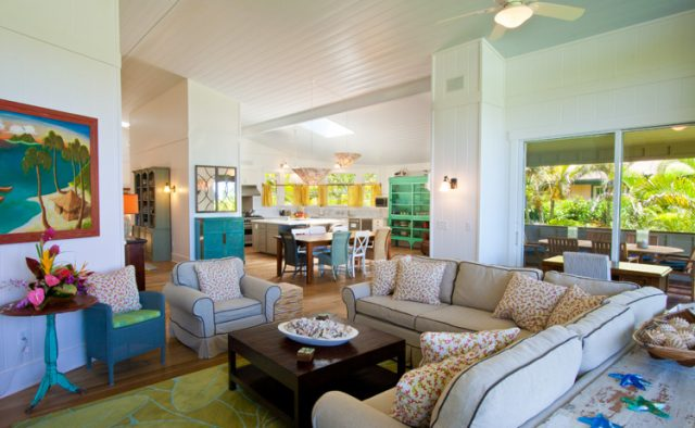 Hidden Passion - Living area seating - Kauai Vacation Home