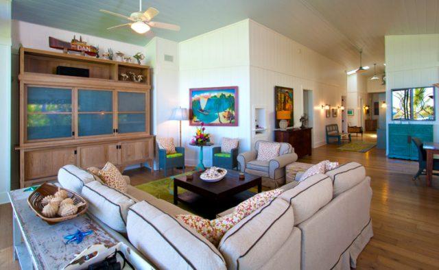 Hidden Passion - Living area (Alternative View) - Kauai Vacation Home