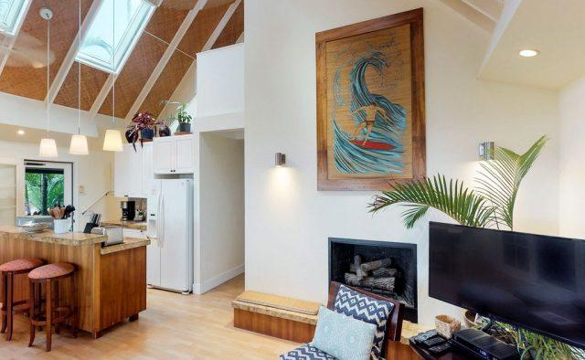 Natural Harmony - TV Area - Kauai Vacation Home