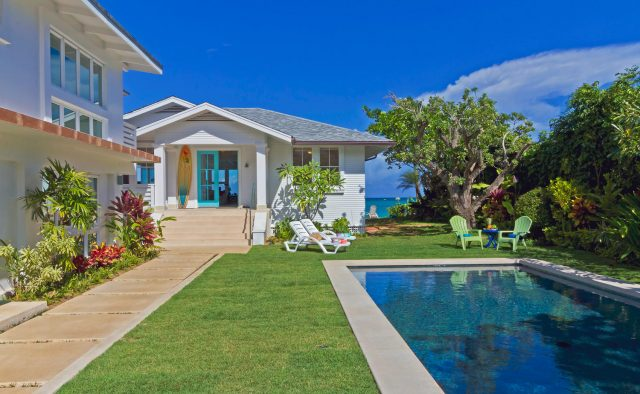 Honu Heaven -Pool and outdoor area - Oahu Vacation Home