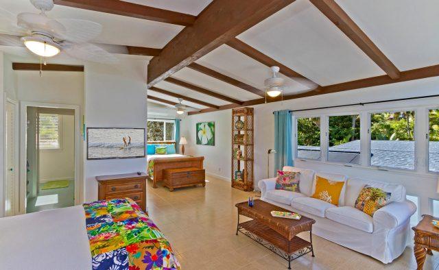 Honu Heaven - Master Bedroom - Oahu Vacation Home