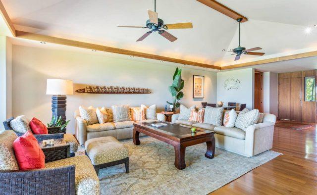 Hualalai 4202 - Living Area 2 - Hawaii Vacation Home