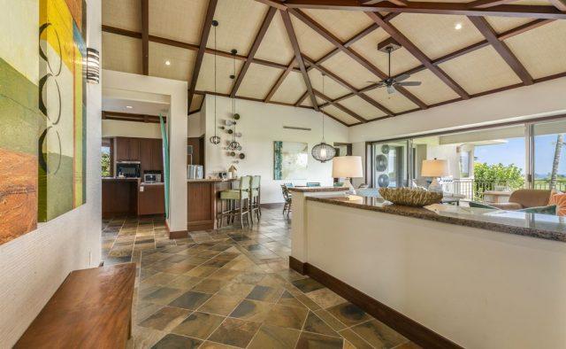 Hualalai Resort Fairway Villa 116D - Entryway - Hawaii Vacation Home