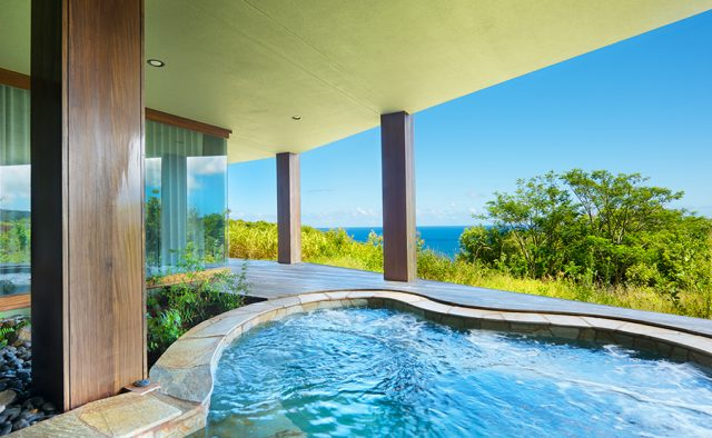Lavishly Teak - Hot Tub View - Kauai Vacation Home