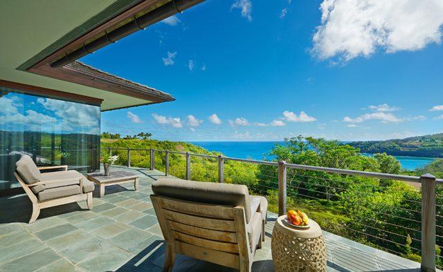 Lavishly Teak - Balcony View of the ocean - Kauai Vacation Home