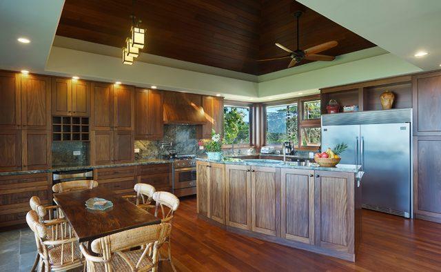 Lavishly Teak - Kitchen Dining area - Kauai Vacation Home