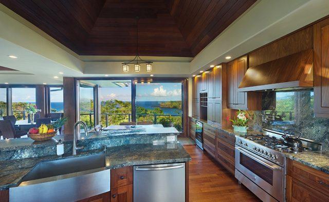 Lavishly Teak - Kitchen - Kauai Vacation Home