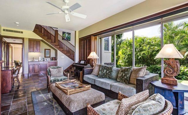 Ke Alaula 210A - Living area 2 - Hawaii Vacation Home
