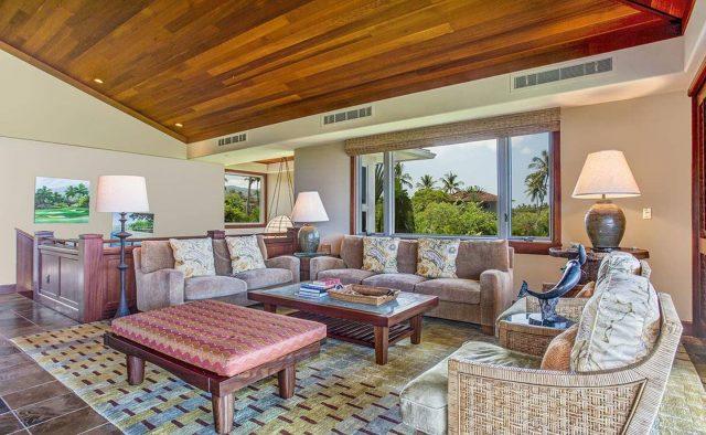 Ke Alaula 210A - Living Area - Hawaii Vacation Home