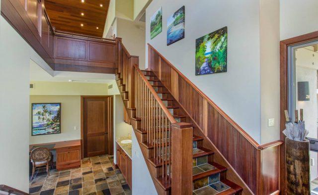 Ke Alaula 210A - Stairs - Hawaii Vacation Home