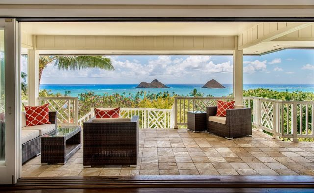Kehaulani - Balcony Sitting - Oahu Vacation Home