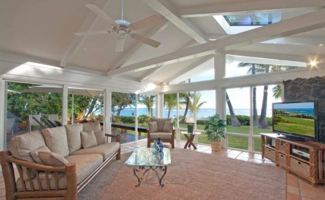 Just Beachy - TV Room - Maui Vacation Home