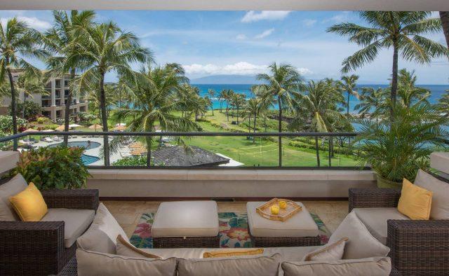Bermuda Blue at Montage Luxury Home Rental - Patio - Hawaii Hideaways 8