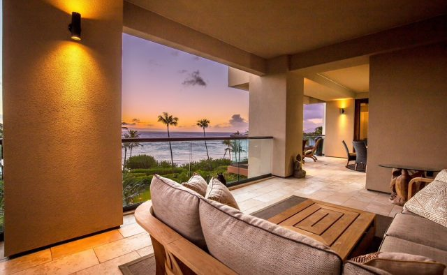 Ocean Breeze at Montage - Balcony Seating and view of the ocean - Maui Vacation Home
