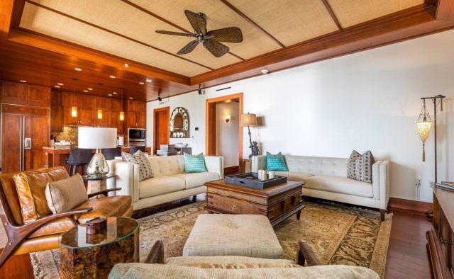 Ocean Breeze at Montage - Living area - Maui Vacation Home