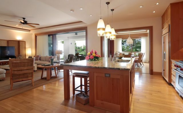 Coral Reef Luxury Home Rental - Kitchen - Hawaii Hideaways