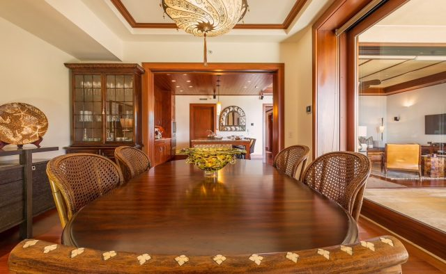 Ocean Breeze at Montage - Formal Dining table - Maui Vacation Home