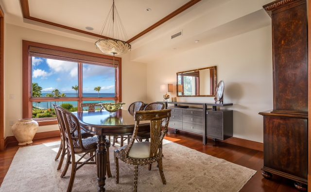 Ocean Breeze at Montage - Dining Area - Maui Vacation Home