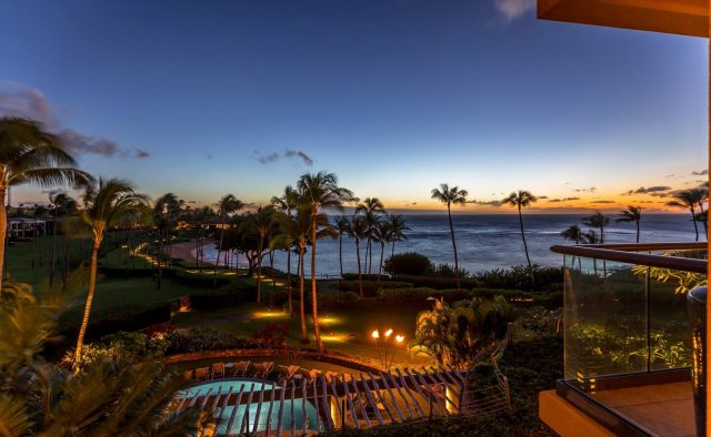 Ocean Breeze at Montage - Community Pool and view of ocean - Maui Vacation Home
