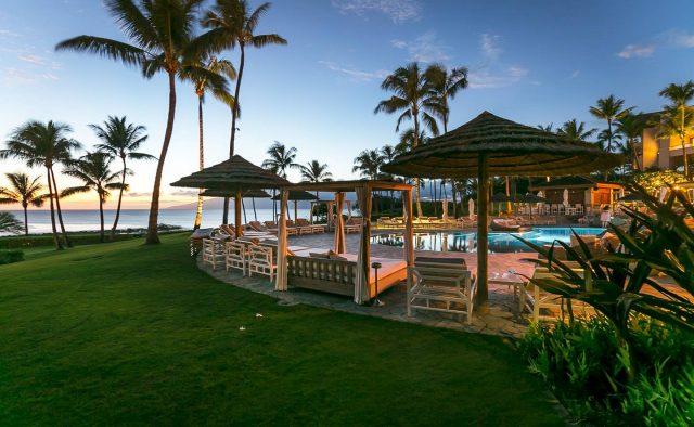 Humu Humu at Montage - Cabanas at the pool - Hawaii Vacation Home