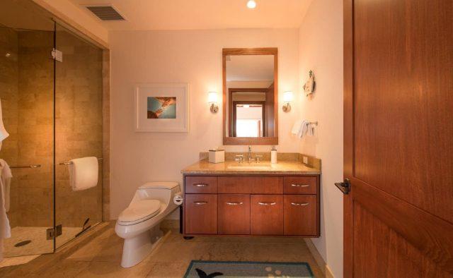 Bermuda Blue at Montage Luxury Home Rental - Bathroom - Hawaii Hideaways